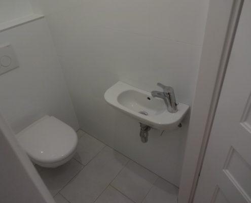WC nach der Renovierung