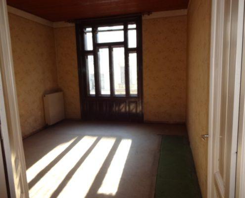 Zimmer vor der Renovierung
