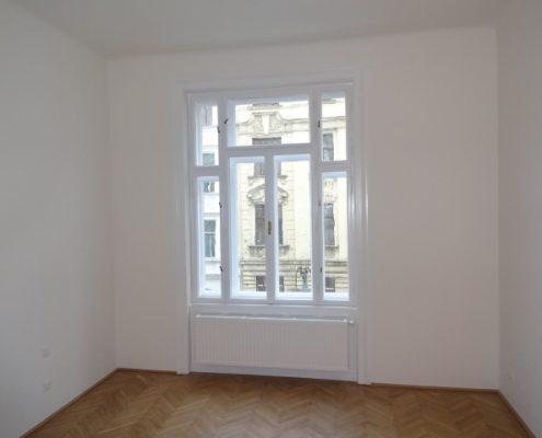 Zimmer nach der Sanierung - Wien