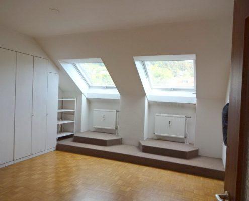 1190 Dachgeschoß Schlaf Wohnraum