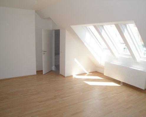 1160 Wohnzimmer Dachterrassenwohnung