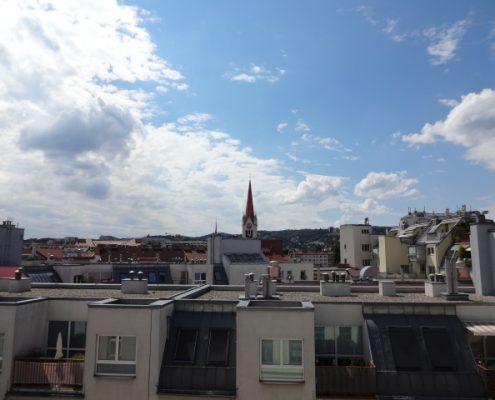 Aussicht Dachgeschosswohnung 1160 Wien