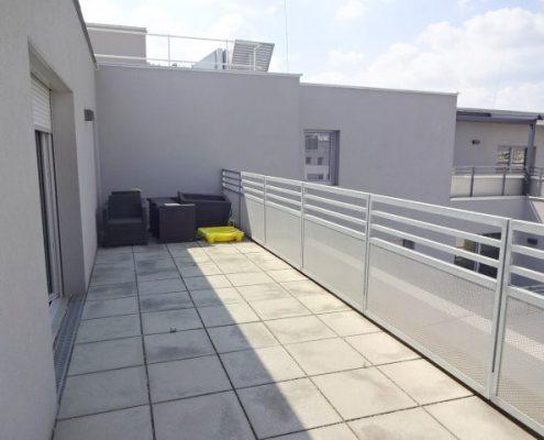 Dachgeschosswohnung mit großer Terrassenfläche