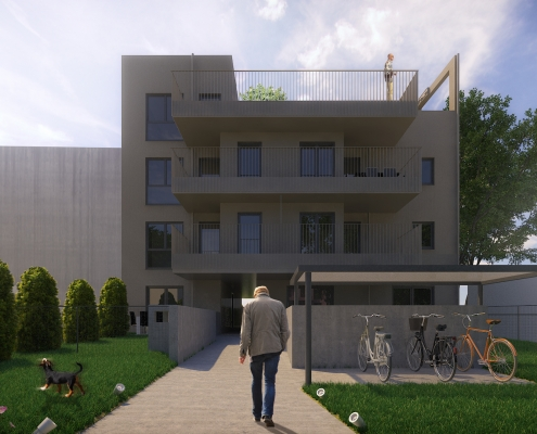 Bauträgerprojekt 1230 Draschestraße