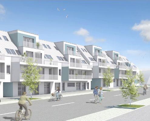 Wohnbauprojekt 1120 Wien Himbergerstraße