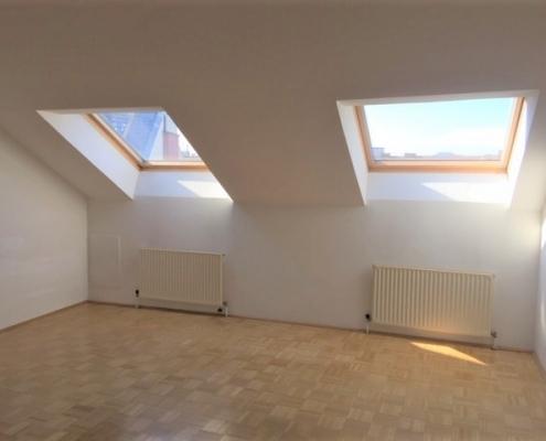 ausgebautes Dachgeschoss in schönem Altbau