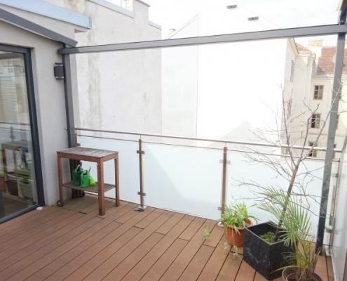 DG-Wohnung mit Terrassen und Balkon